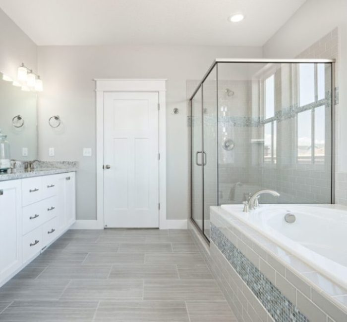 50 glass shower door inspiration and ideas brooklyn for Rainey homes