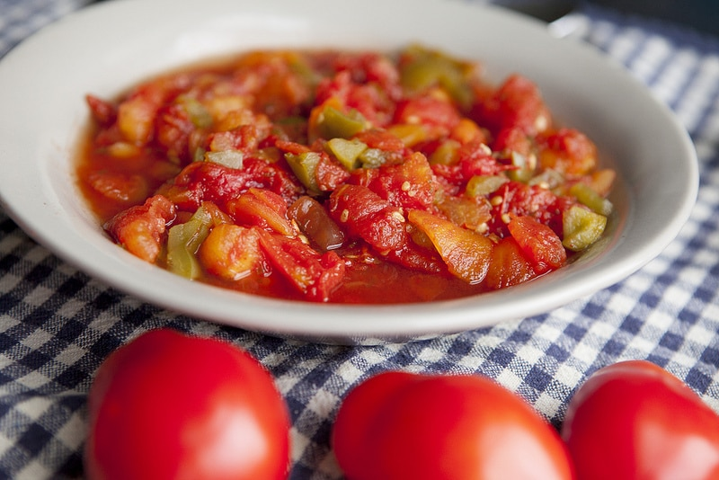 The Best Stewed Tomatoes Ever - Easy Homemade Recipe