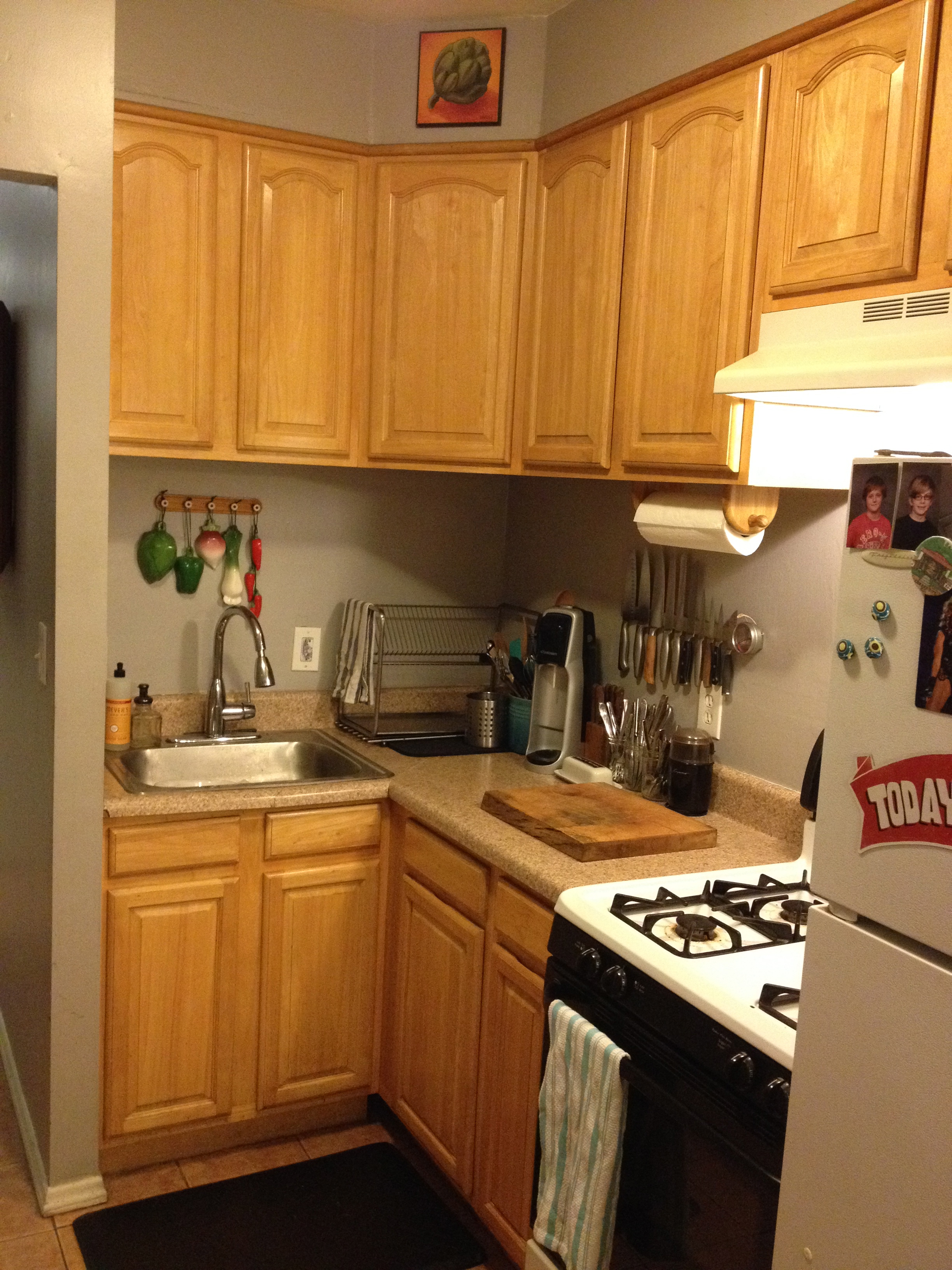 How To Update Laminate Kitchen Cabinets Kitchen Backsplash Update Brooklyn Homemaker