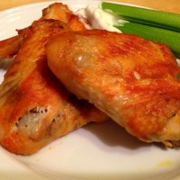 Crockpot Buffalo Chicken Wings