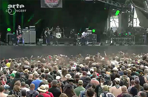Arte Concert Hellfest Live M O D On Tour In Europe Watch Their Whole Hellfest Set Download