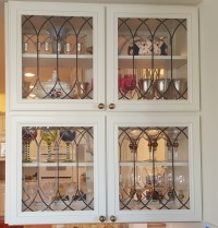 Stained Glass Kitchen Cabinet Doors - Home Design