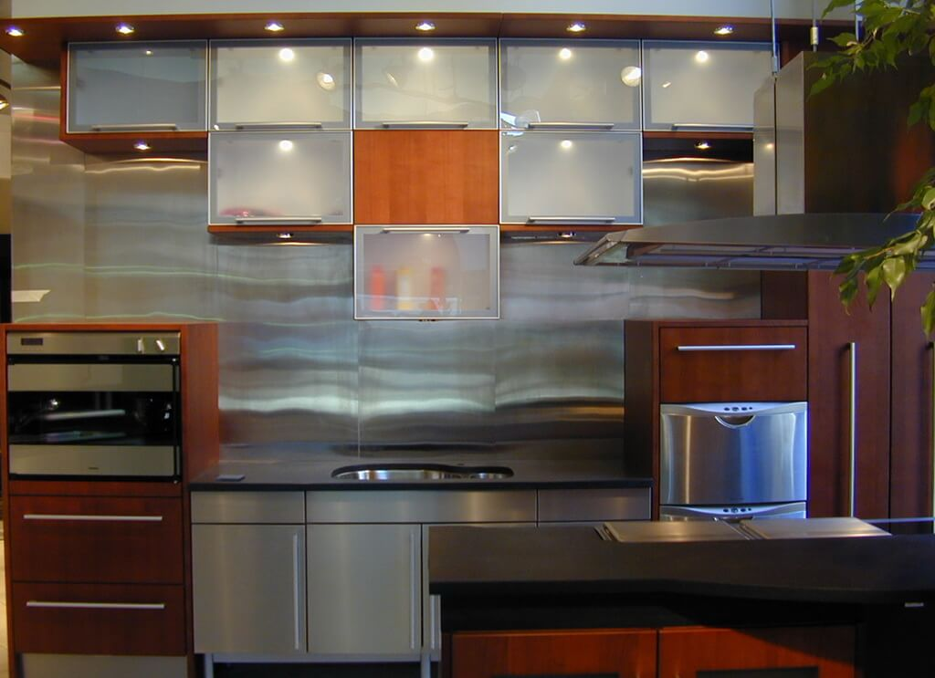 brooks custom home page metal countertops stainless steel backsplashes metal backsplashes kitchen designs choose kitchen layouts