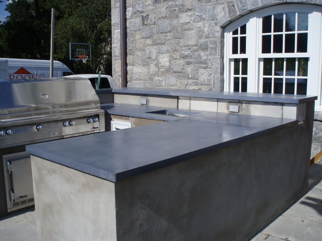 Outdoor Countertops Material Exterior Countertops Gallery Brooks Custom