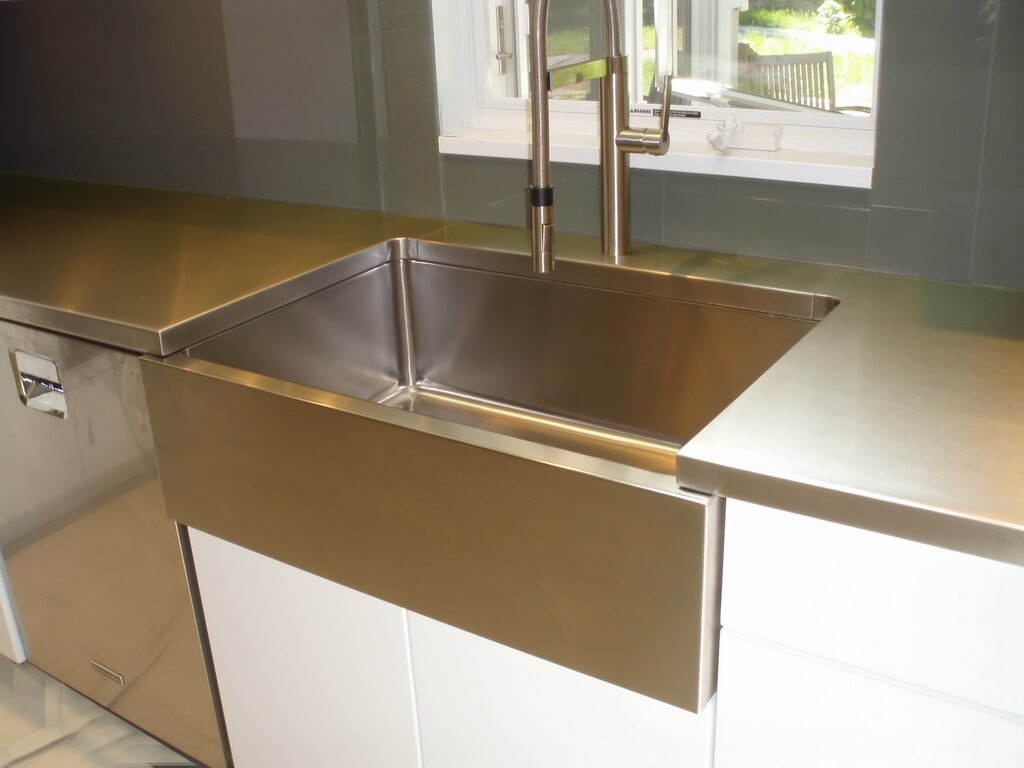 Stainless Countertop Stainless Steel Countertop Brooks Custom