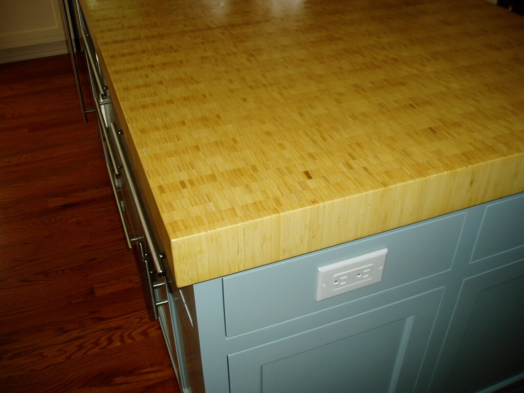End Grain Wood Countertops