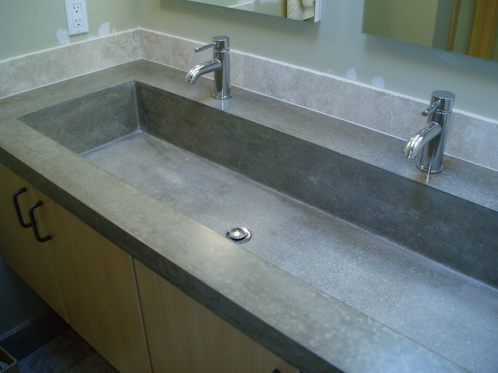 Concrete Countertop Edge Molds Custom Sink Portfolio Brooks Custom