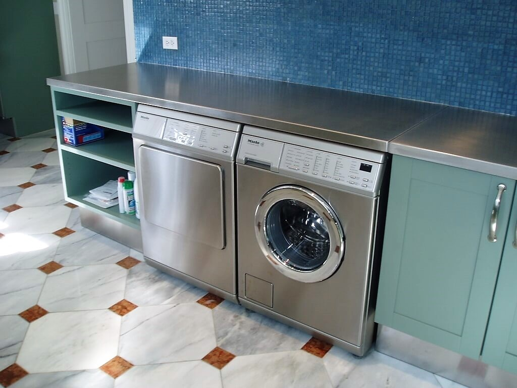 Laundry Room Countertop Material Stainless Steel Countertops Brooks Custom