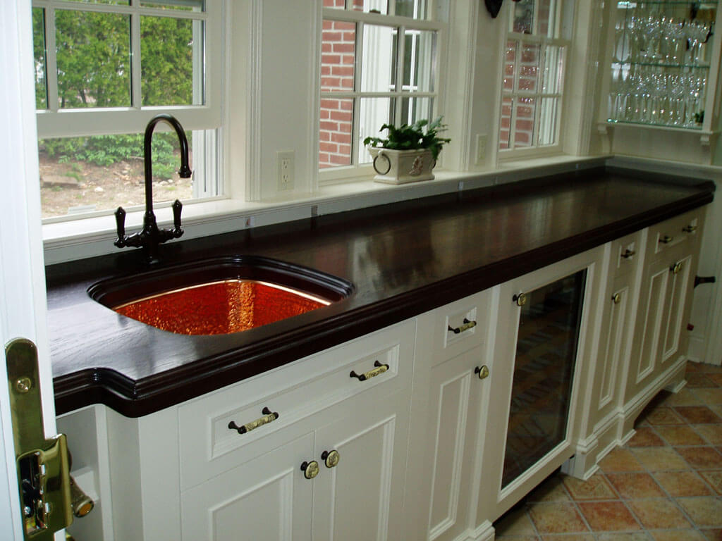 How To Waterproof Wood Countertop Waterproof Wood Countertops The Marine Finish Brooks Custom