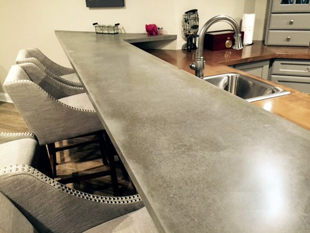 Countertops For Bars Concrete Bar Tops Brooks Custom Countertops