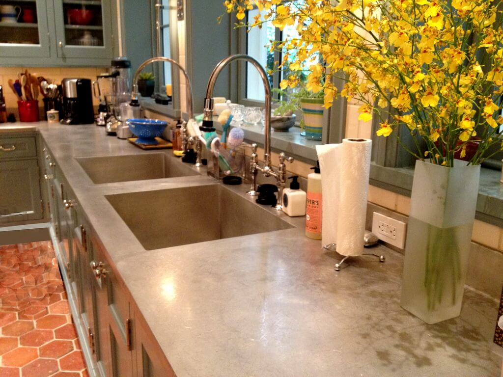 How To Clean Zinc Countertops Pewter Care And Maintenance Brooks Custom