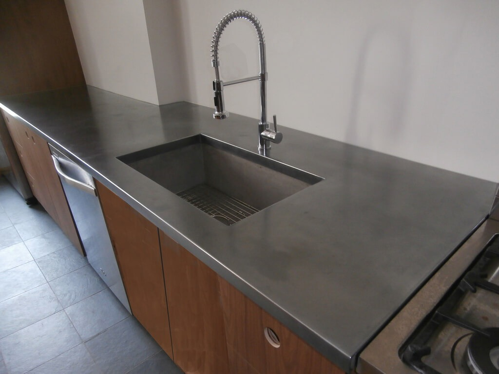 Stainless Steel Countertop Trim Bistro Collection Metal Countertops Brooks Custom