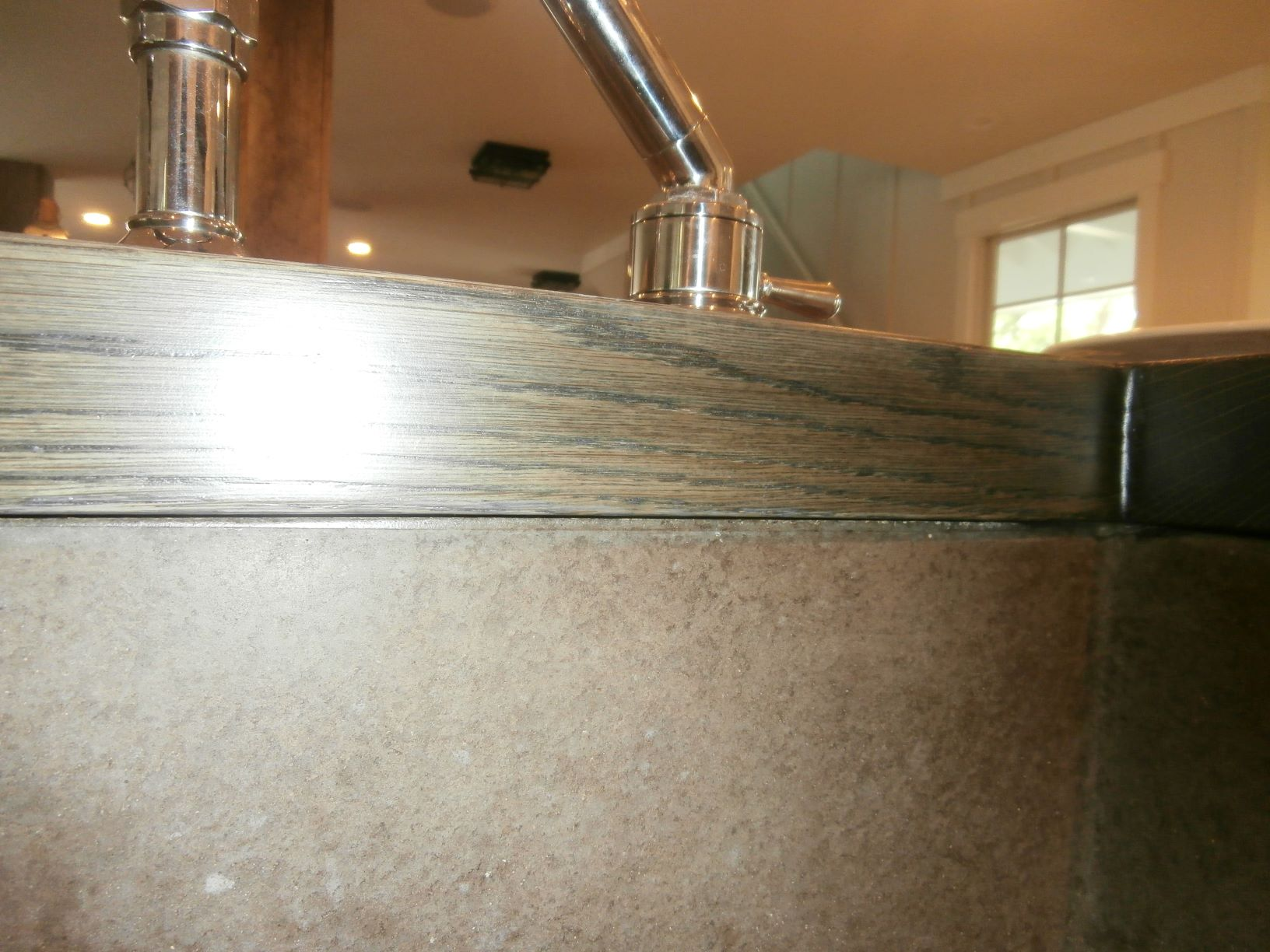 How To Waterproof Wood Countertop Marine Finish After Repair Brooks Custom