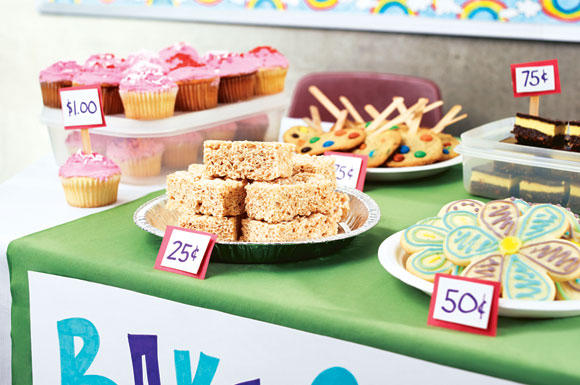 A Successful Bake Sale Bake Sales and Boot Camp - bake sale images