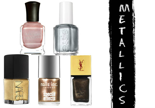 10 Best Metallic Nail Polish Shades On Trend For 2019