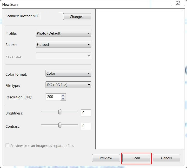 How do I scan a document in Windows 8 or 81 using Windows Fax and - fax document