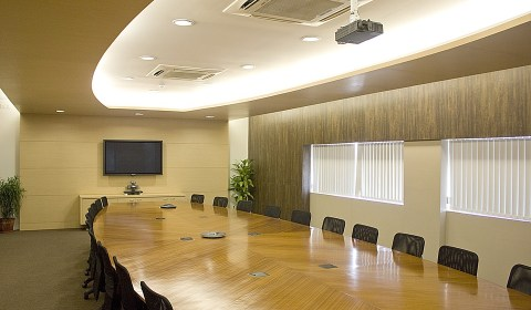 Corporate boardroom: Worldly business mentality enters church