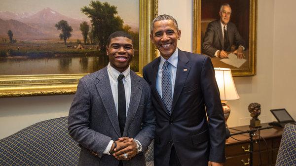 President Obama Storycorps