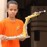 This 12-year-old Turns Scraps Into Robotic Toys