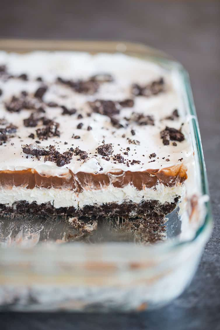 Vegane Oreo Torte No Bake Heavenly Oreo Dessert Brown Eyed Baker