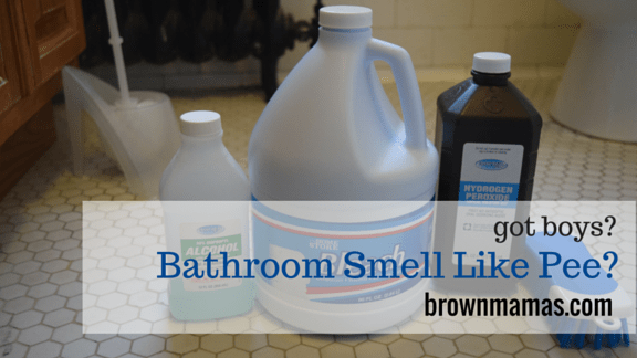 Got boys?  Bathroom Smell Like Pee?  Here's How to Stop That.