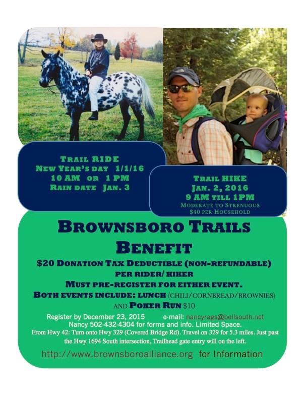 Brownsboro Trails Benefit 2016