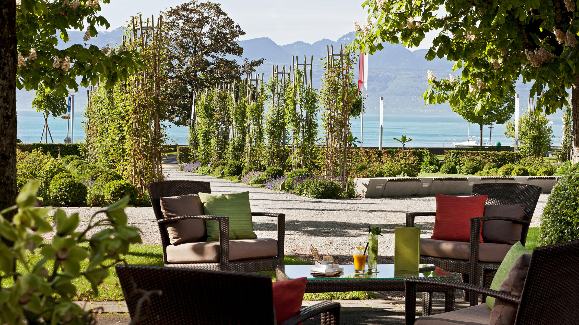 Bar Für Terrasse Beau Rivage Palace Hotel 5 Star Hotel Bar Lausanne Switzerland