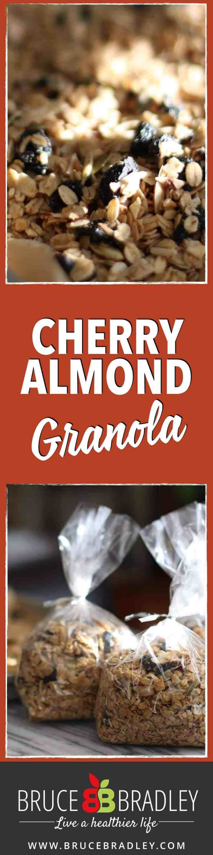 ... Cherry Almond Granola is delicious and made with 100% real ingredients