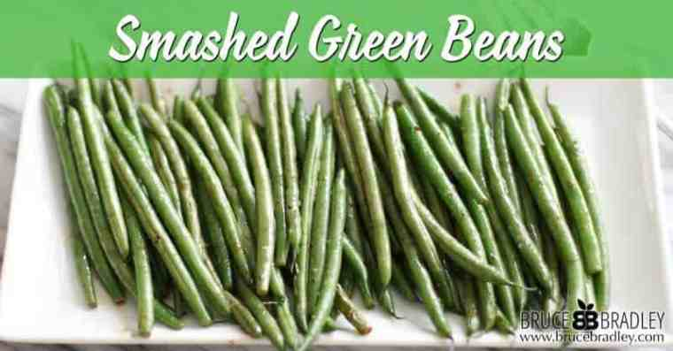 A delicious twist on stir-fried green beans made with a little garlic, oil, and red wine vinaigrette dressing. Can you say yum!