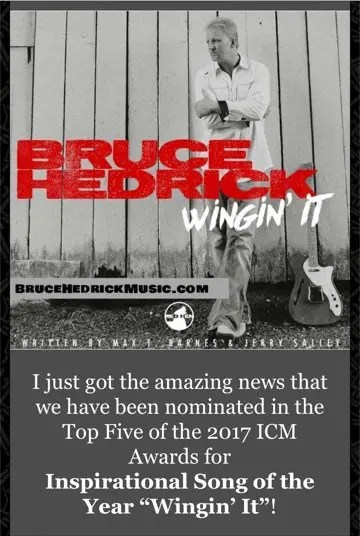2017 ICMA Inspriation Country Song of the Year \u2013 Bruce Hedrick Music