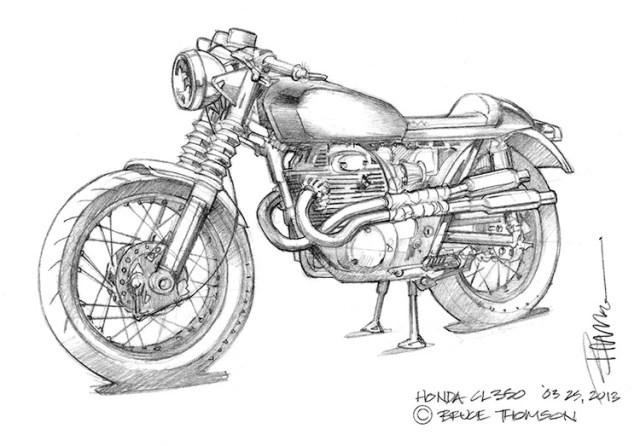 1972 honda cl350 Schaltplang