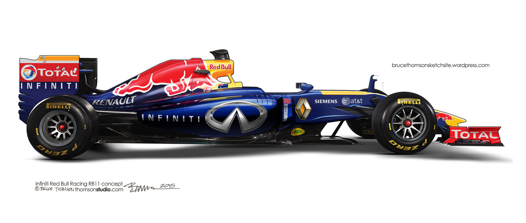 Red Bull Rb11 2015 Infiniti Red Bull Racing Rb11 Concept Caught In My Headlights
