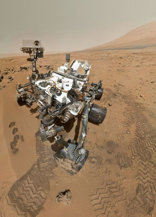 Autorretrato de Curiosity en Marte
