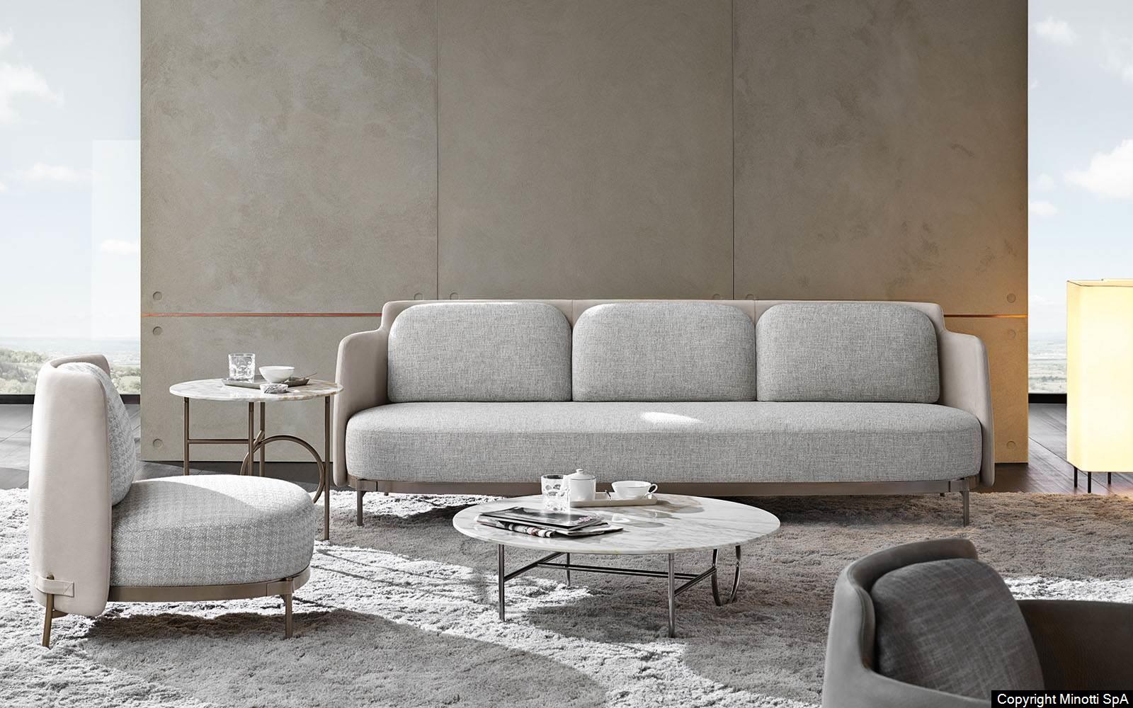 Sessel Stoff Kaufen Minotti: Tape Sofa Von Nendo Design - Bruno Wickart Blog