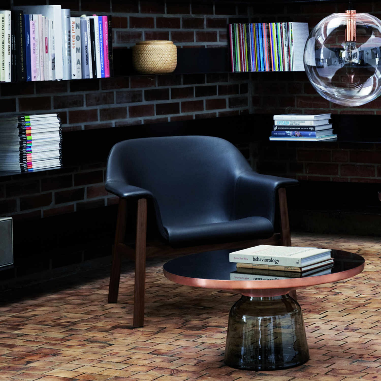 Classicon Bell Coffee Table Copper Couchtisch Bruno Wickart Ch