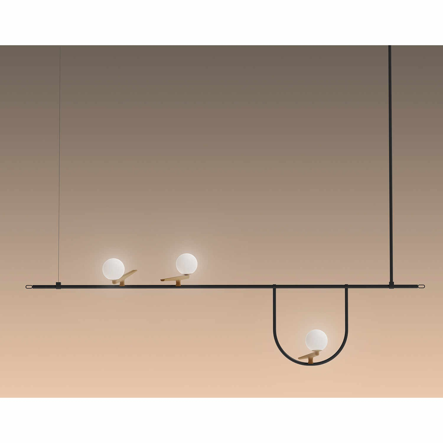 Artemide Suspension Yanzi Suspension 1 Hängeleuchte