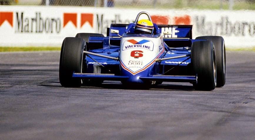 Moreno pela Galles na Indy, em 1985