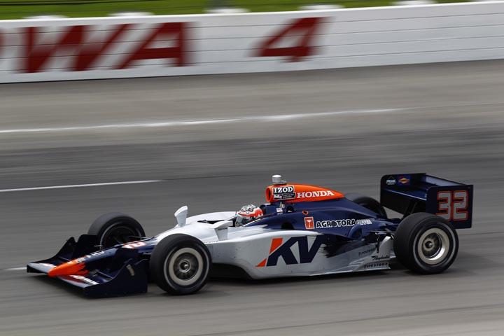 2010 IRL IndyCar Iowa
