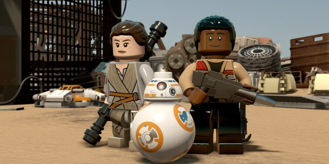 New LEGO Star Wars trailer has Finn, Han Solo