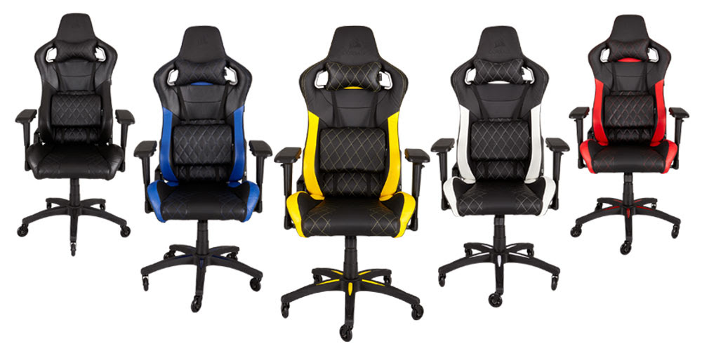 Bureaustoel Race Corsair Launches T1 Race Gaming Chair | Brutal Gamer