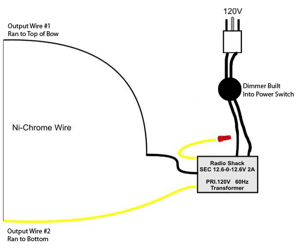 wiring diagram hot wire foam cutter