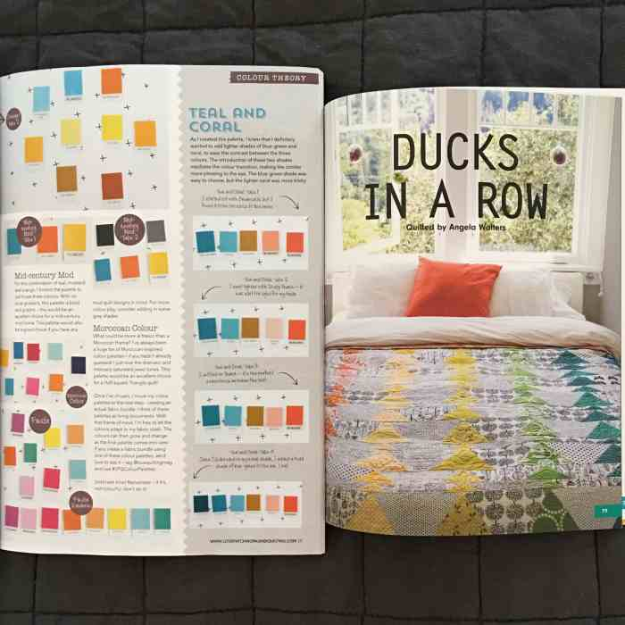 From Color Palette to Fabric Pull {August 2016}