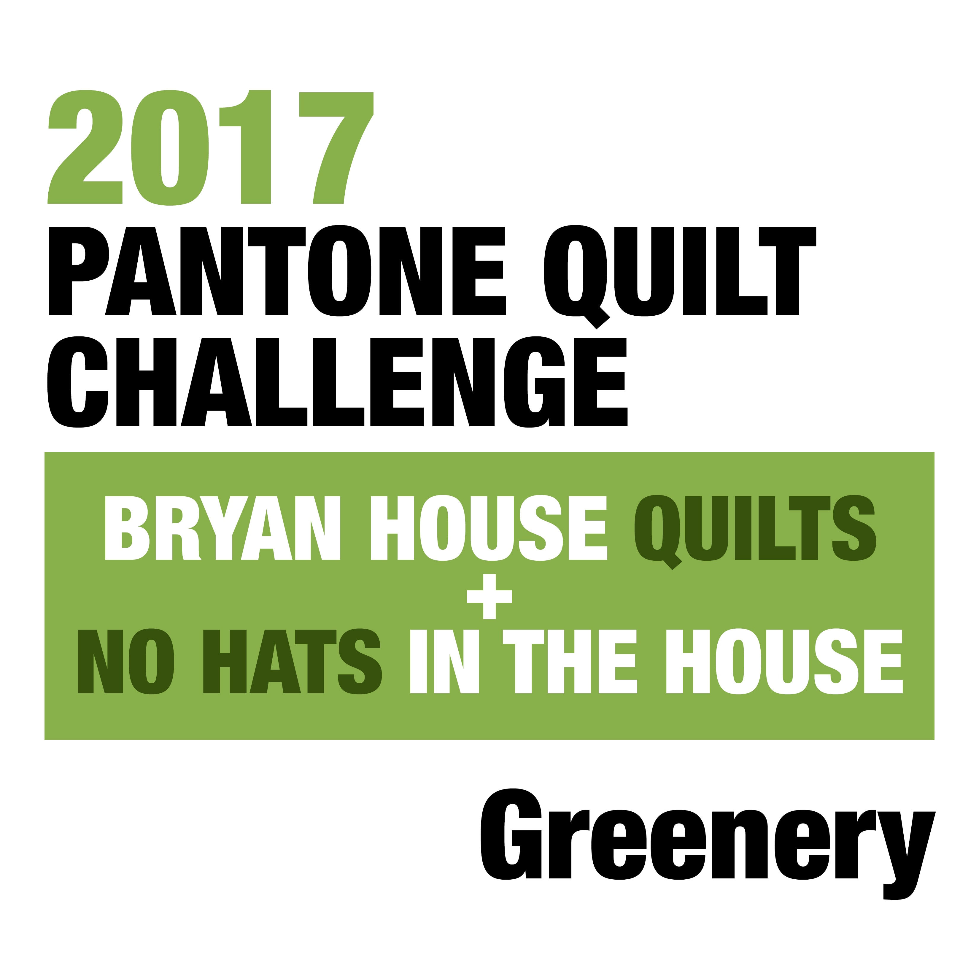 Greenery Pantone 2017 Pantone Quilt Challenge Greenery Edition Bryan House Quilts