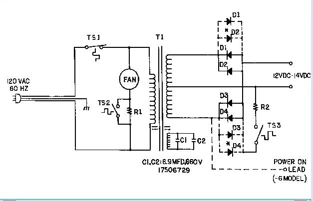 damon intruder wiring diagram tv