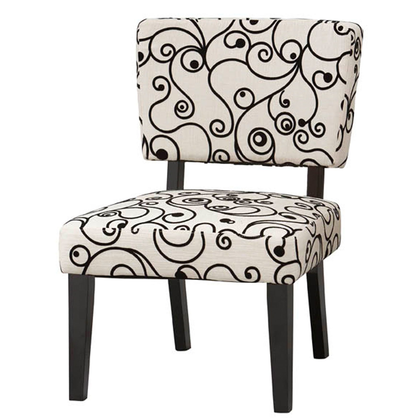Black And White Accent Chair Taylor Accent Chair White Black Circles