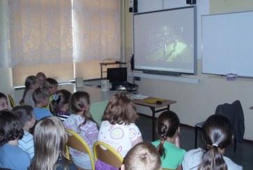 Internetowy Teatr TVP dla szkół  zawitał do  Szkoły  Podstawowej w Olszance