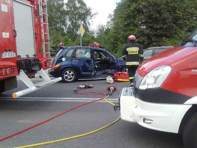 wypadek w Skarbimierzu