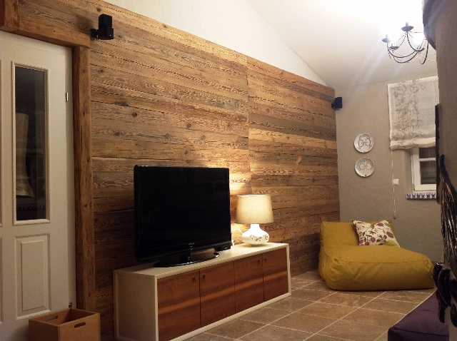 Tv Wand Holz Tv Wand Holz Wohnzimmer | Bs-holzdesign