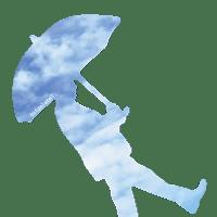 M3905ぽん傘の人