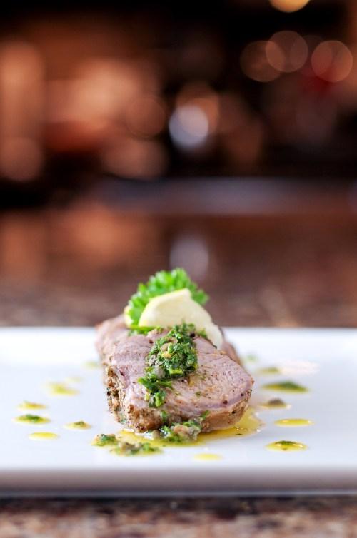 Herb Rubbed Pork Loin   bsinthekitchen.com #pork #dinner #bsinthekitchen